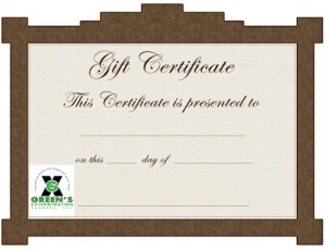 greensgiftcertificate